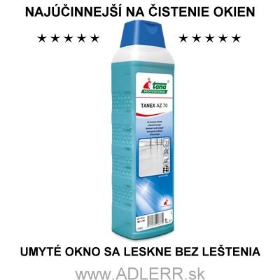 TANEX AZ 70 na čistenie okien