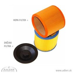 Držiak na Hepa filter k vysávačom Columbus SW 50, SW 52, SW 53