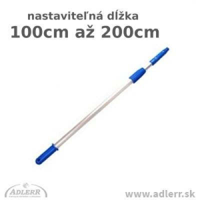 Teleskopická tyč 2 x 100 cm