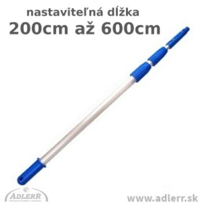 Teleskopická tyč 3 x 200 cm
