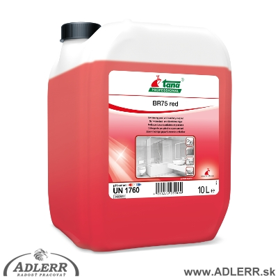 SANET BR 75 Red extra silný na vodný a močový kameň 10 L