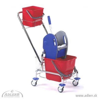 Vozík CLASIC 1x17L + košík zadný + košík na rukoväť svedrom 6L
