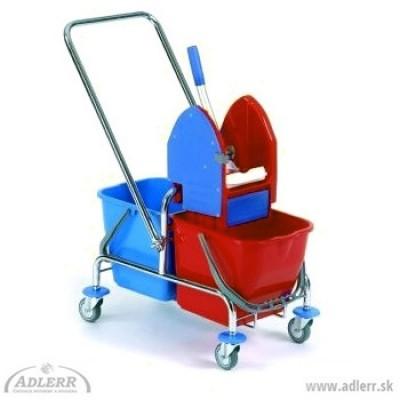 Upratovací vozík CLASIC 2x17L