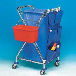 Upratovací vozík na odpad