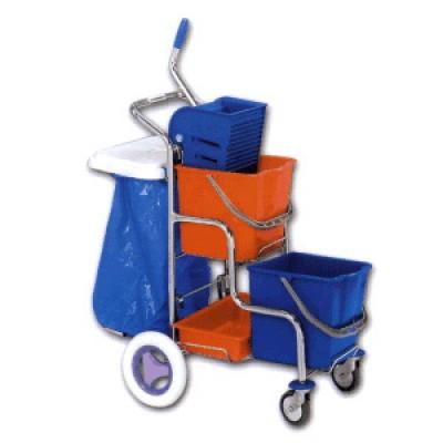 Upratovací vozík STEP s držiakom vreca