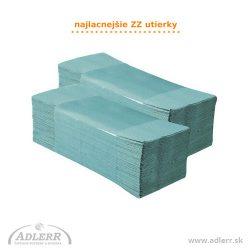 Papierové utierky ZZ LUX zelené