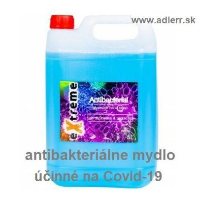 Antibakteriálne mydlo na koronavírus