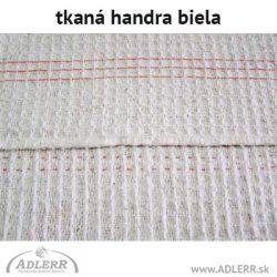 Handra na podlahu tkaná biela