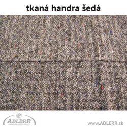 Handra na podlahu tkaná šedá