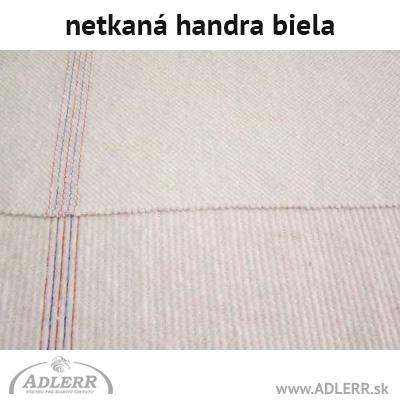 Handra na podlahu bavlnená biela