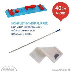Čistiaca sada Mop mikrofázový FLIPPER 40 cm