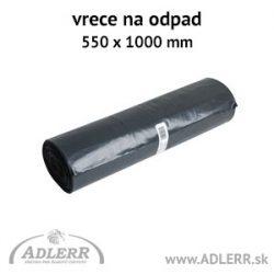 Hrubé vrecia na odpad 550 x 1000 mm