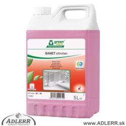 Ekologický čistiaci prípravok Zitrotan na kúpelne a sociálne zariadenia 5 L