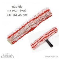 Návlek na rozmývač EXTRA 45 cm - červené pásiky