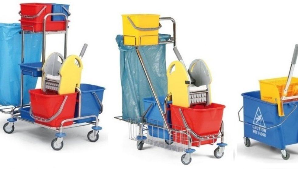 Upratovacie vozíky pre lepšiu hygienu